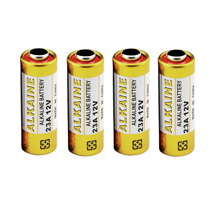 4pcs/lot Alkaline <font><b>battery</b></font> <font><b>12V</b></font> 23A <font><b>battery</b></font> 23A <font><b>12V</b></font> 21/23 <font><b>A23</b></font> E23A MN21 RC control remote controller <font><b>battery</b></font> RC Part image