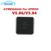 Atmega64a chip para xprog v5.86 v5.84 substituição chip de solda mostrar