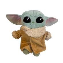 22Cm gwiezdne wojny dziecko Yoda Mandalorian Pluche zabawki Pp Katoen wypchane zwierzęta prezenty urodzinowe dla dzieci Kerstcadeaus