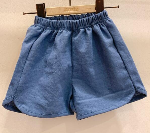 2020 Baby Boys Denim Shorts Infant Toddler Baby Girls PP Shorts Diaper Cover Denim Shorts Kids Jeans Pant Bloomers Baby Shorts 7