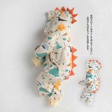 Babygirl Onesie New Born Romper Funny Winter Cute Dinosaur Autumn Solid Geckatte
