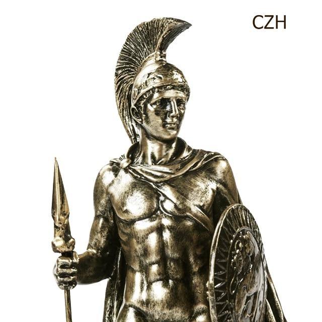 Greek Spartan Warrior Sculpture