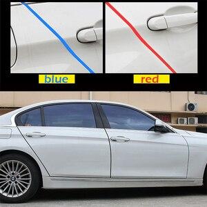 Image 3 - 5M/10M drzwi samochodowe gumowe krawędzie listwy ochronne drzwi boczne listwy samoprzylepne zabezpieczenie przed zarysowaniem pojazd dla samochodów Auto