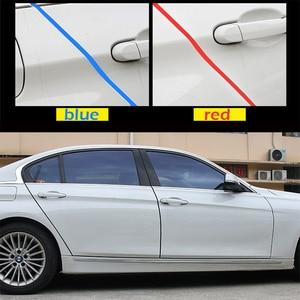 Image 3 - 5M/10M רכב דלת טיולי גומי קצה מגן רצועות צד דלתות פיתוחים דבק שריטה מגן רכב עבור מכוניות אוטומטי