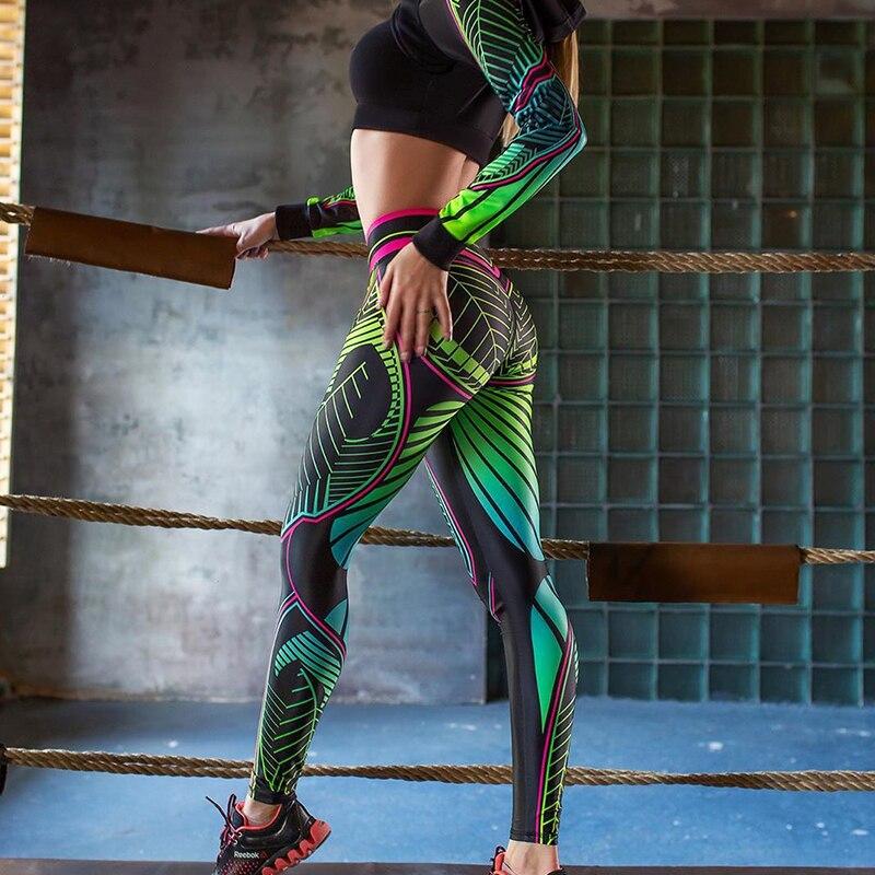Pattern Gym Leggings 4