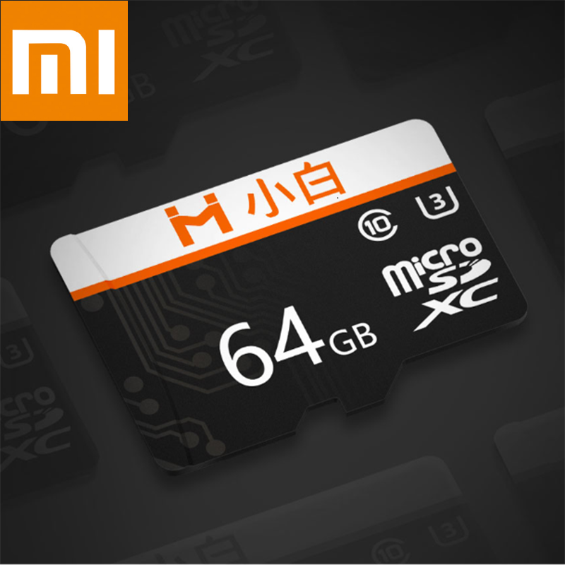 Xiaomi Youpin Xiaobai Micro SD Memory Card Large Capacity High Speed Transmission HD Video Recording Compatible 32GB 64GB 128GB