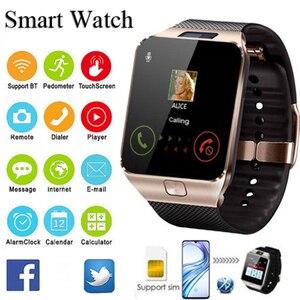 2020 Bluetooth Smart Watch Men Intelligent Digital Sport Smartwatch DZ09 Pedometer For Android ios Smartphone