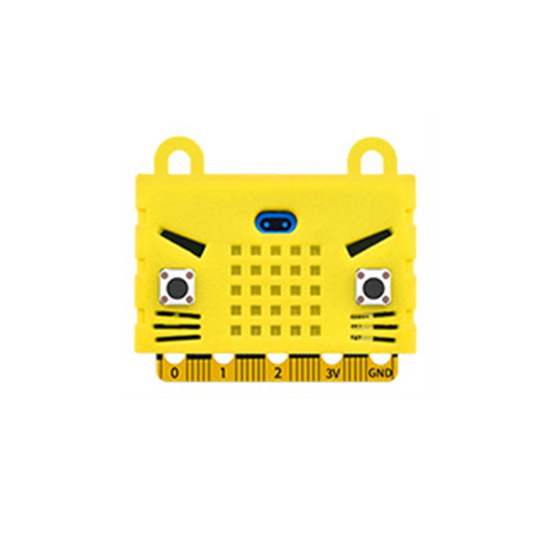 Экологичное уплотнение/тигр/в форме кота силиконовый защитный корпус Крышка корпуса для Micro: Плата расширения бита Bue/красный/оранжевый - Цвет: 8