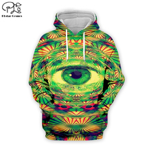 Men women trippy native eye print 3d hoodies hooded harajuku green tshirt native Sweatshirts zipper unisex Pullover short стоимость