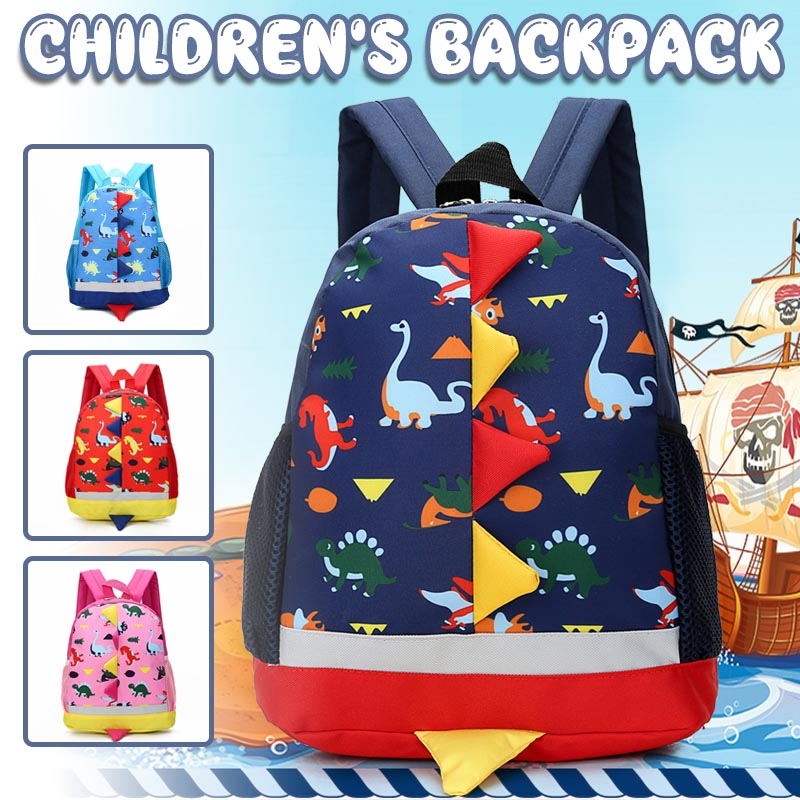 Children Cute Mochilas Dinosaur Kids Baby School Bag Backpack Children's Backpack Infantis Cartoon Knapsack School Supplies