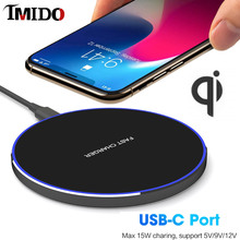 QI wireless charger 10W 15W for xiaomi mi9 mix 3 for Samsung s10 plus note10 5G for Huawei p30 pro for iphone 8 charger wireless