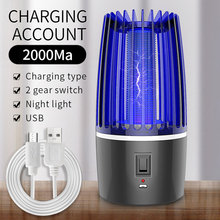 Electric Insect Trap Light Bug Zapper Photocatalysis Mute Home LED Mosquito Repellent killer Zapper  Lamp Anti Moth Outdoor Tool