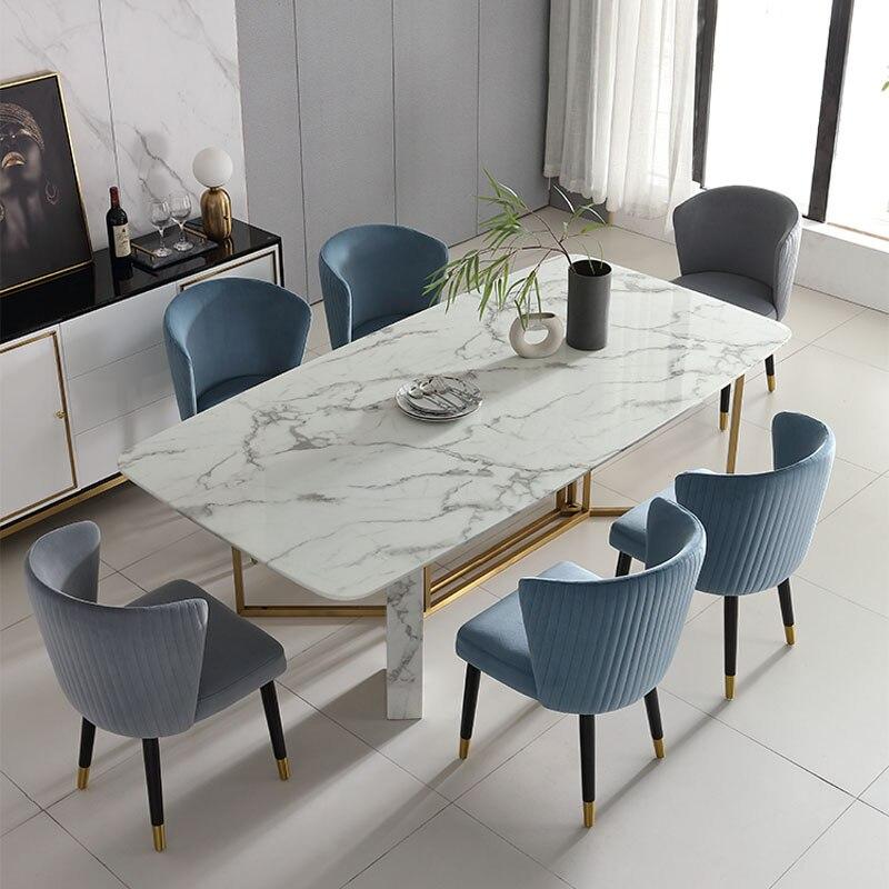 طاولة طعام تصاميم رخيصة منضدة رخامية Cheap Marble Table Designer Dining Tablesdining Table Aliexpress