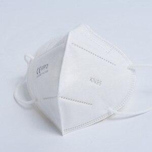 Image 4 - Entrega rápida Reutilizáveis Máscara Filtros KN95 Máscara Boca Máscara de Filtração ffp2 máscaras À Prova de Poeira da tampa Protetora Contra Poeira