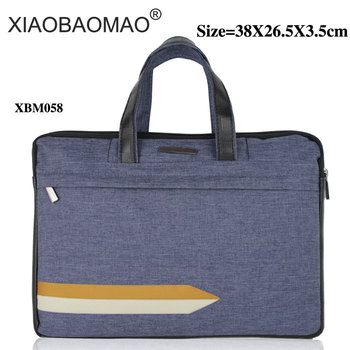 Oxford cloth blue business a4 file bag office men's computer file organizer business bag meeting bag document folder bag xiaobaomao a4 commercial business document bag tote file folder filing meeting bags pocket office bags pocket large capacity