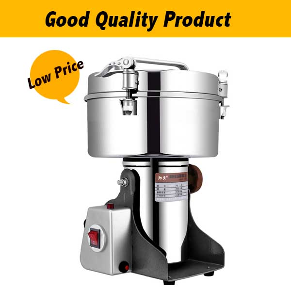 4500G Large Food Crusher Commercial Swing Type Corn Flour Mill