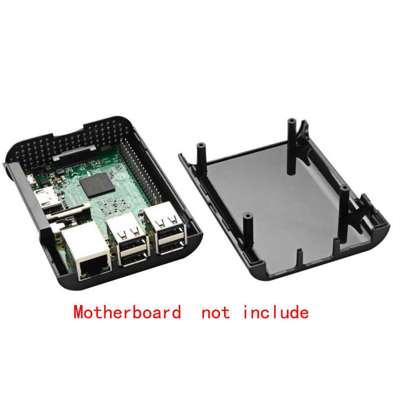 1 комплект ABS чехол для Raspberry Pi 2 Модель B Raspberry Pi 3 Model B DIY Набор для сборки