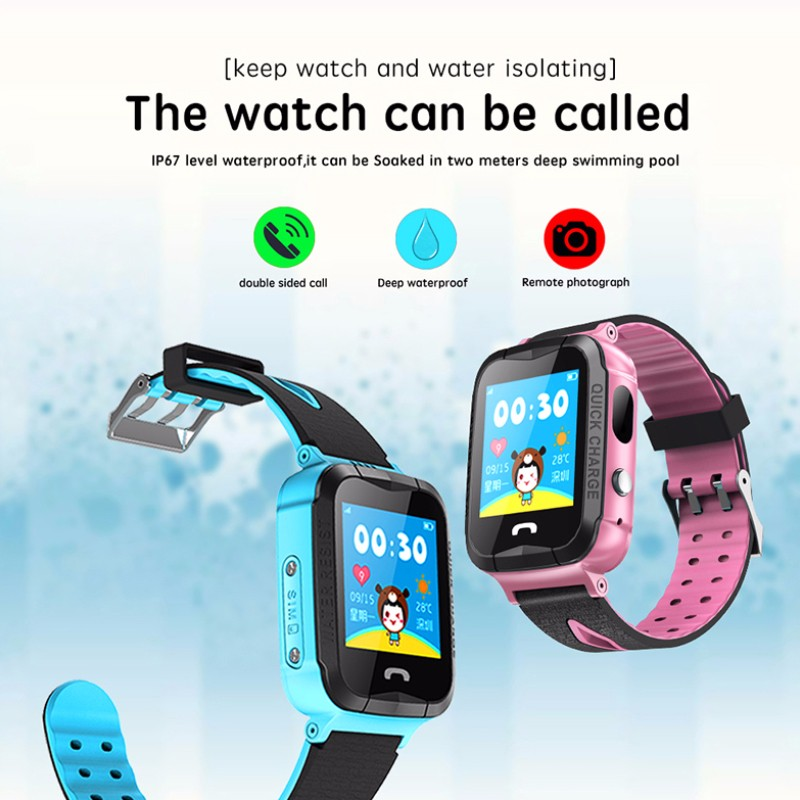 H1b197d4003074c6e9e6a91e0dce53495s - GPS kids Smart Watch Phone Position Children Watch 1.22 inch Color Touch Screen WIFI SOS Tracker Smart Baby Watch IOS & Android