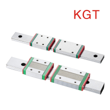 KGT Miniature linear guide rail MGW7 MGW9 MGW12 MGW15  carriage slideL100 350 400 450 600 700 800mm block MGW9H MGW12H MGW15H
