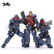 JOYTOY 1/18 3.75inch Action Figure (3PCS/SET) 03rd Legion Interstellar Trooper Anime Collection Model Toy For Gift Free Shipping