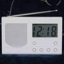 Diy lcd fm радио набор электронный Обучающий Частотный диапазон