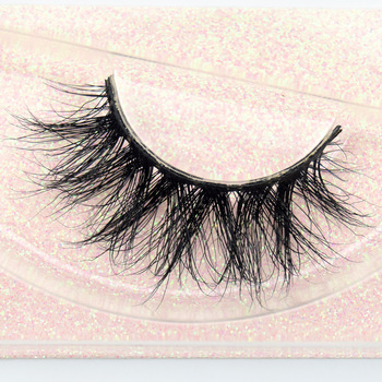 Visofree Mink Eyelashes 100% Cruelty free Handmade 3D Mink Lashes Full Strip Lashes Soft False Eyelashes Makeup Lashes E11 1