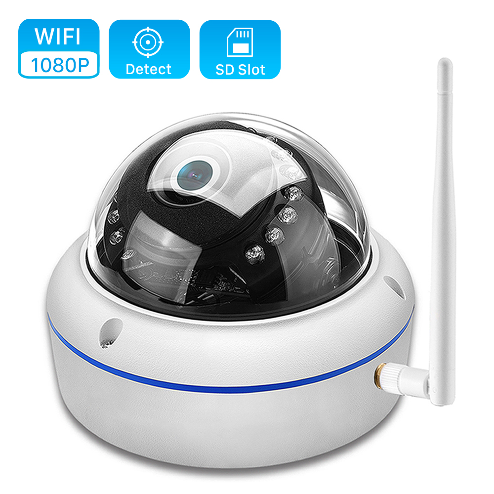 ANBIUX 1080P Wifi Camera Vandal-Proof ONVIF Outdoor Yoosee Night-Vision 2MP IR 32G 20M