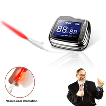 Home Wrist Type Laser Watch High Blood Pressure High Blood Fat High Blood Sugar Diabetes Therapy Instrument