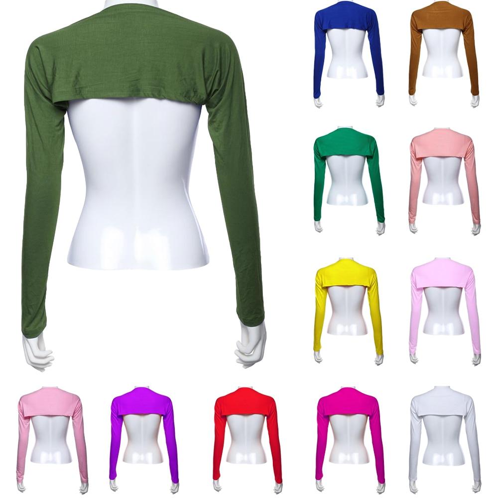 Sanwood/® Womens Long Sleeve Thin Bolero Shrug Hijab Accessories