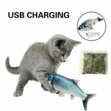 Электрическая движущаяся игрушка для кошек Реалистичная Интерактивная