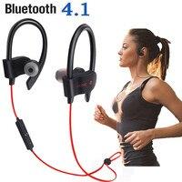 Cuffie sportive 4.1 compatibili con Bluetooth cuffie Wireless sportive impermeabili auricolari Stereo resistenti al sudore