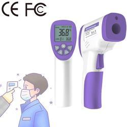 YM-6688 Display LCD Intelligente Digitale Senza contatto Della Fronte Corpo Termometro A Infrarossi Portatile Tenuto In Mano di Misurazione della Temperatura