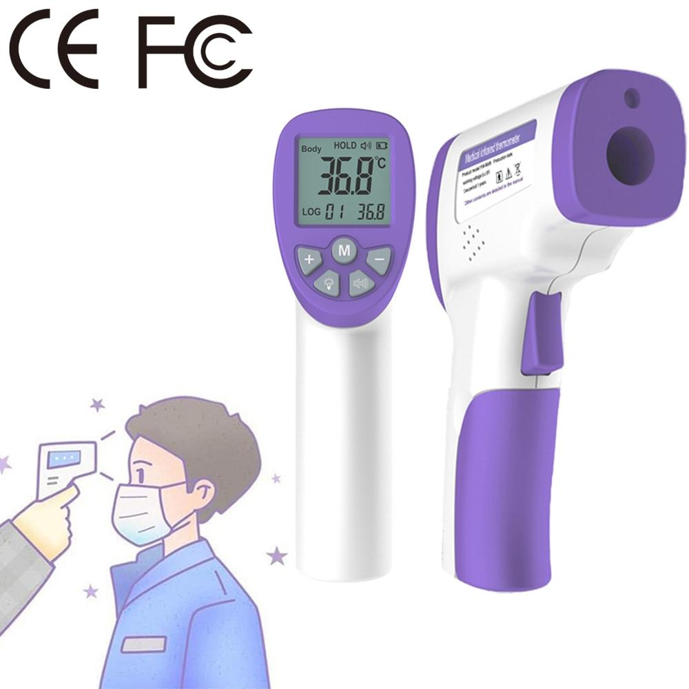YM-6688 LCD Display Digital Smart Non-contact Forehead Body Infrared Thermometer Portable Handheld Temperature Measurement