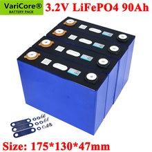 VariCore-batería LiFePO4 de 3,2 V y 90Ah, fosfato de litio y hierro de gran capacidad, 90000mAh, para motor de coche eléctrico y motocicleta