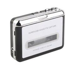 Walkman convertidor de Tape to MP3 Digital adaptador de Cassette USB reproductor de música Hifi