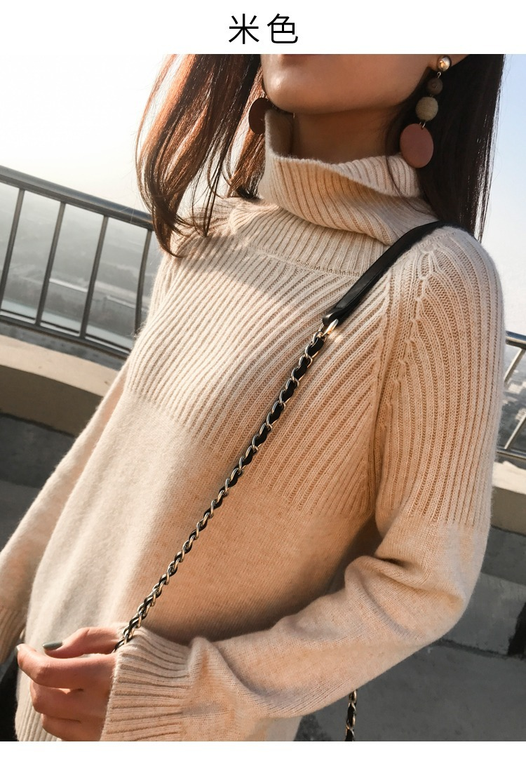 Pullover Women's Sweater Women Clothes 2020 Korean Vintage Warm Tops Autumn Winter Knitted Sweaters Pull Femme Hiver ZT4652