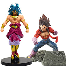 Japanese Anime Dragon Ball Z figure Broly Super Saiyan Trunks PVC Action Figure toy Goku Collectible Model toys gift