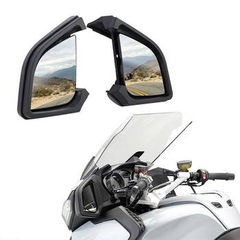 Motorcycle Rear View Mirror For BMW R1200RT R1200 RT 2005-2012 2011 2010 2009 2008 2007 2006 car left right heated wing rear mirror blue glass for bmw x3 e83 2004 2005 2006 2007 2008 2009 2010 51163418485 51163418486