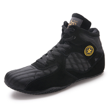 Fighting-Shoes Boxing Wresting Professional MMA Training Stong Grip Anti-Slip Hot-Sal