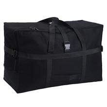 대용량 수하물 가방 158 항공 운송 패키지 해외 학습 해외 이동 가방 옥스포드 천 방수 접이식 보관
