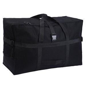 Image 1 - Büyük kapasiteli bagaj çantası 158 hava nakliye paketi yurtdışı yurtdışı eğitim taşıma çantası Oxford kumaş su geçirmez katlanır depolama