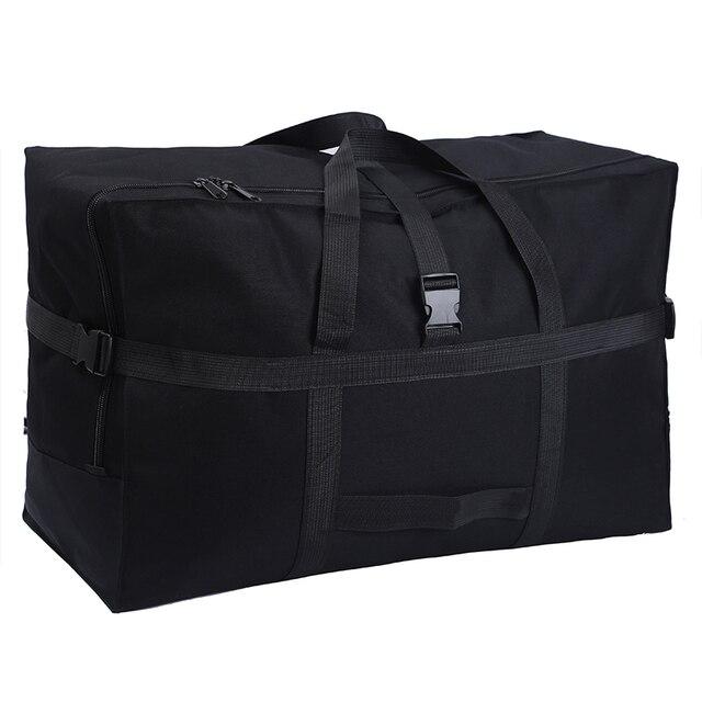 Büyük kapasiteli bagaj çantası 158 hava nakliye paketi yurtdışı yurtdışı eğitim taşıma çantası Oxford kumaş su geçirmez katlanır depolama