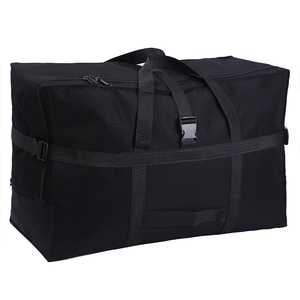 Image 1 - Large capacity luggage bag 158 air shipping package abroad study abroad moving bag Oxford cloth waterproof folding storage