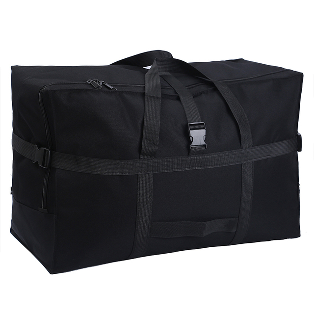 Large capacity luggage bag 158 air shipping package abroad study abroad moving bag Oxford cloth waterproof folding storage