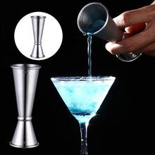 1Pc Stainless Steel Cocktail Scale Cup Bar Double Head Measuring Cup Bartending Measuring Cup For Bar Kitchen Accessories