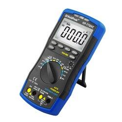 тестер мультиметр цифровой Holdpeak HP-760H правда RMS автонастройка цифровой мультиметр метр с мин макс значения частота / температура / емкость те...