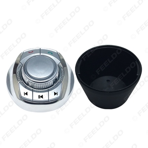 Image 2 - FEELDO Cup Shape 8 User defined Functions Car Wireless Steering Wheel Control Button For Car Android DVD/GPS NV Player #FD5677