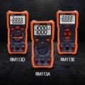 Цифровой мультиметр RICHMETERS 113D 113A, Бесконтактный индикатор напряжения, автоматический выбор диапазона, 6000 отсчетов, измеритель напряжения с ...