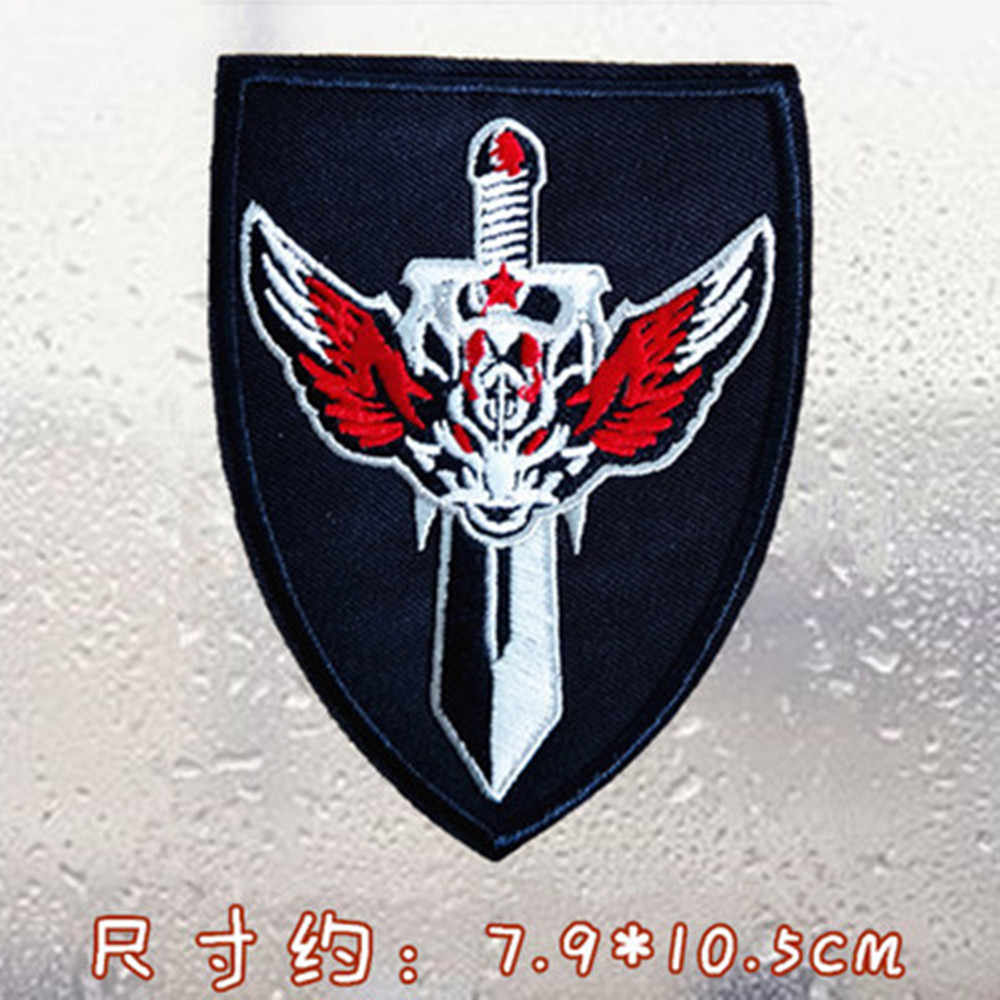 Fer sur vêtements patchs Badges mode broderie Apollo boussole Badges vêtements sacs de vêtement Cowboy T-shirt bricolage