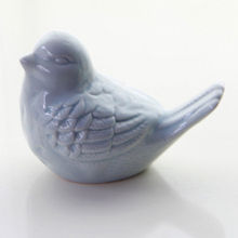 European Pastoral Ceramic Ornaments Color Bird Magpie Crafts Home Accessory